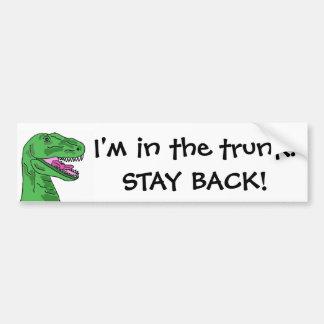 AF- T-Rex trunk sticker Bumper Sticker