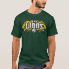 AFC Lions Green (With #) T-Shirt