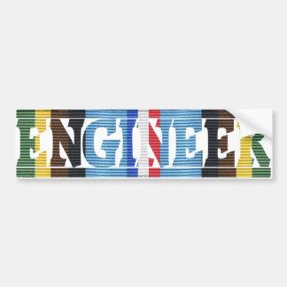 AFEM Veteran Engineer Bumper Sticker
