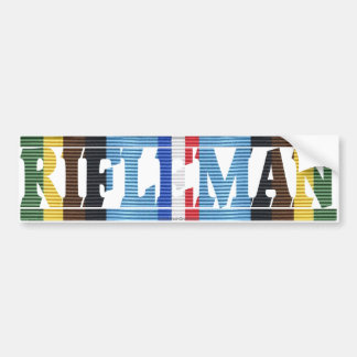 AFEM Veteran Rifleman Bumper Sticker