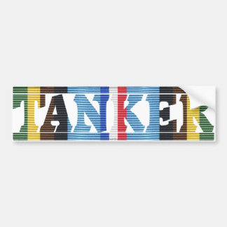 AFEM Veteran Tanker Bumper Sticker