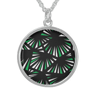 Affable Lucky Humorous Placid Round Pendant Necklace