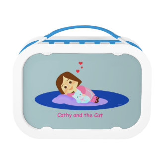 Affection and friendship lunch box