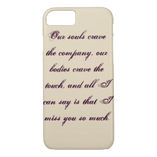 Affection iPhone 7 Case