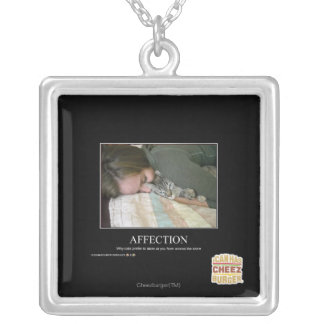 Affection Silver Plated Necklace