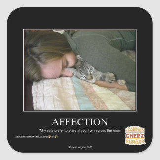 Affection Square Sticker