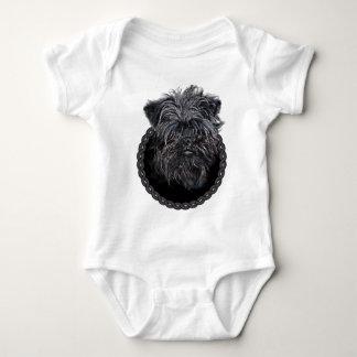 Affenpinscher 001 baby bodysuit