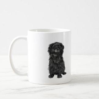 Affenpinscher (A) - black Coffee Mug