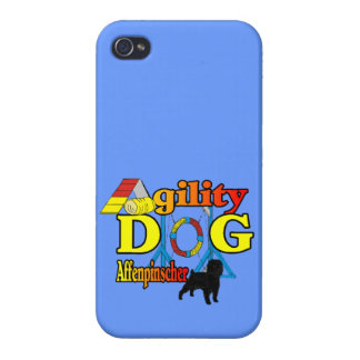 Affenpinscher Agility Dog Case For The iPhone 4