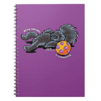 Affenpinscher Being Adorable Notebook