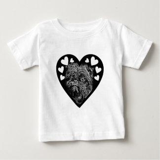 Affenpinscher BW003 Baby T-Shirt