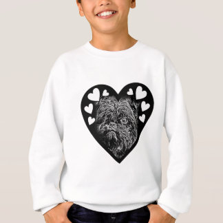 Affenpinscher BW003 Sweatshirt