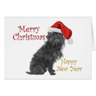 Affenpinscher Christmas Card