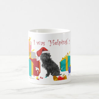 Affenpinscher Christmas Coffee Mug