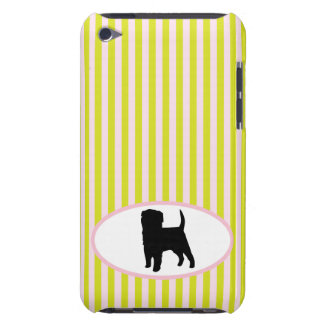 Affenpinscher dog silhouette ipod touch 4G case iPod Case-Mate Cases