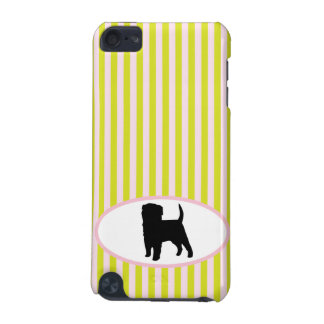 Affenpinscher dog silhouette ipod touch 4G case iPod Touch (5th Generation) Cases