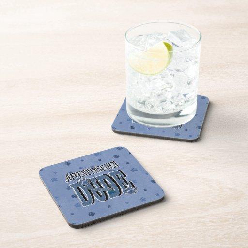 Affenpinscher DUDE Beverage Coasters