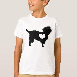 Affenpinscher Heart Kids T-Shirt