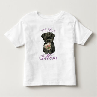Affenpinscher Heart Mom Shirts
