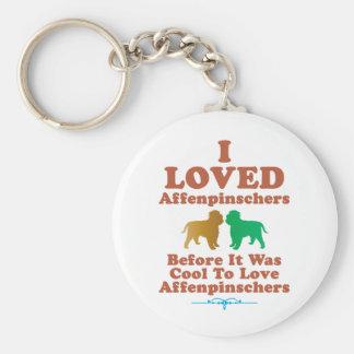 Affenpinscher Key Ring