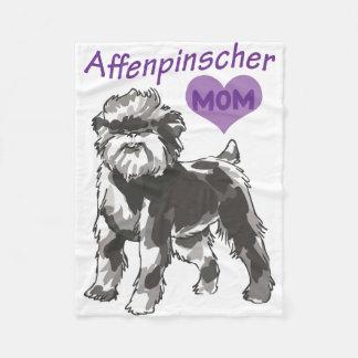 Affenpinscher mom Blankets
