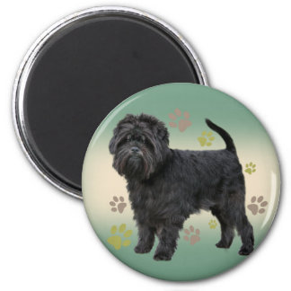 Affenpinscher Paw Prints Products Magnets