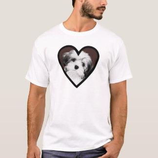Affenpinscher Puppy Heart 001 T-Shirt