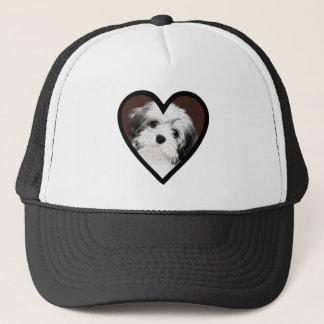 Affenpinscher Puppy Heart 001 Trucker Hat