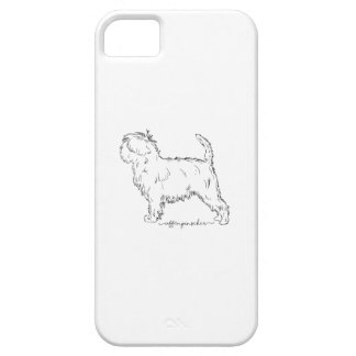 Affenpinscher sketch case for the iPhone 5