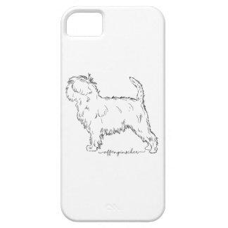 Affenpinscher sketch iPhone 5 cases