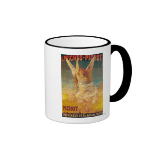 Affiches-Pichot Promotional Poster Ringer Coffee Mug