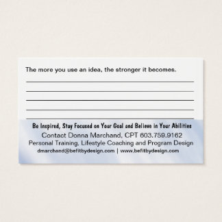 Affirmation Business Card