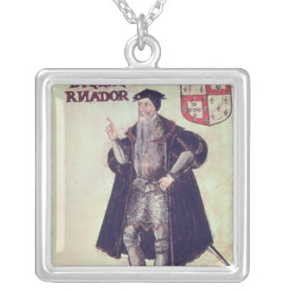 Affonso d'Albuquerque Silver Plated Necklace