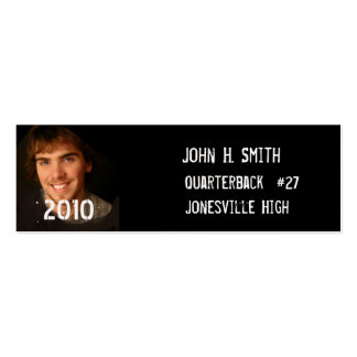 Affordable Senior Pictures Business Card Templates