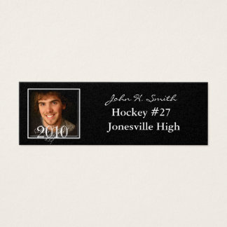 Affordable Senior Pictures Mini Business Card