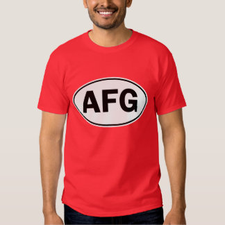 AFG Oval ID T Shirt