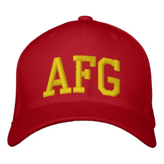 Afgahinstan Campaign Hat (Marines) Embroidered Hats