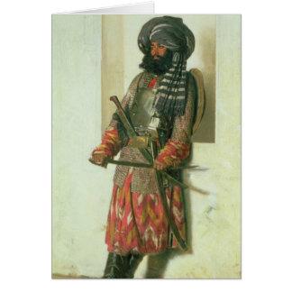 Afghan, 1870 card