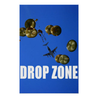 Afghan Air Drop Print