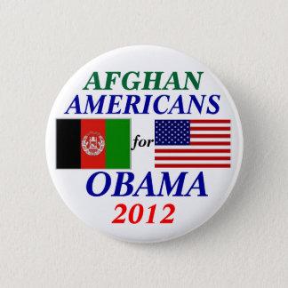 Afghan americans for Obama 6 Cm Round Badge