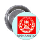 Afghan Emblem 6 Cm Round Badge