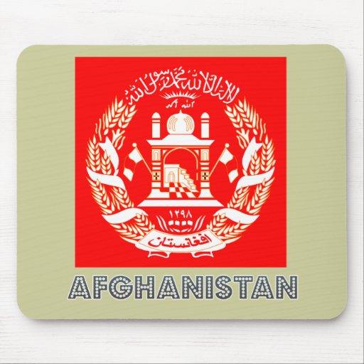 Afghan Emblem Mouse Pad