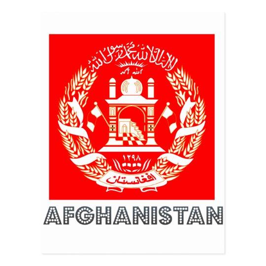 Afghan Emblem Postcard