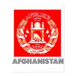 Afghan Emblem Postcards