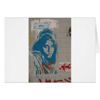 Afghan girl card