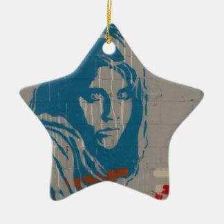 Afghan girl christmas ornament