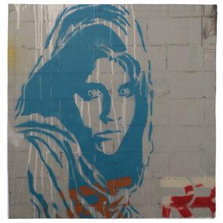 Afghan girl napkin