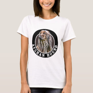 Afghan Hound 002 T-Shirt