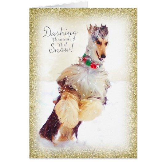 Afghan Hound Christmas Cards