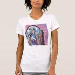 Afghan Hound colourful pop dog art Shirts